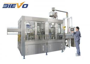 China 415V PLC 6000bph Packaged Drinking Water Filling Machine on sale