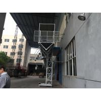 Cheap YZZ 132 S1-4 Motor Mast Climbing Work Platforms Adopts European Technology for sale