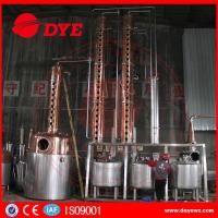 Quality Rum Gin Whiskey Commercial Distilling Equipment Alcohol Pot Still wholesale
