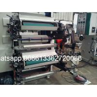 Quality 2 Color Flexographic Printing Machine Flexo Letterpress Printer  600mm Width wholesale