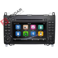 Quality B200 Mercedes Benz Car DVD Player 2 Din Touch Screen Car Stereo With Wince System wholesale