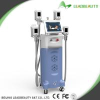 Quality Best 4 Handles Body Cryolipolysis Slimming Machine For Cellulite Reduction wholesale