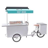 Quality Europe Style BBQ Food Scooter Rust Prevention For Street Food Vending wholesale