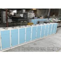 Quality MDF Aluminum Alloy Painted Steel Sheet Modular Laboratory Furniture / Lab Workbench wholesale