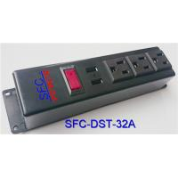 Quality 3 Socket Power Strip With USB Charger , Multi Function Multiple Power Outlet wholesale