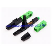 Cheap FTTH Fast Connector SC Fiber Optic Quick Connector UPC APC Available for sale