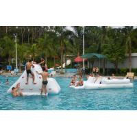 Buy cheap 0.9mm PVC Tarpaulin Inflatable Water Park Games For Hotel Pool / Adults Water Games product