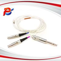 China Connector Manufacturing Company   metal brass push-pull self-locking-RCA audio patchcable FFP 0S to RCA on sale