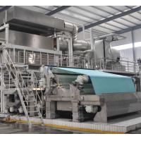 China High speed high quality 30ton per day model 2850mm Crescent former tissue making machine on sale
