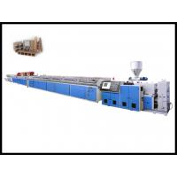 Quality WPC / PVC  / PE /  PP  Plasic  Profile Machine For  Process Door Panel  , Decoration Sheet 1250mm with reasonable price wholesale