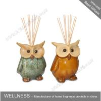 Quality Cute colorful animal shaped ceramic reed diffuser for home decoration wholesale