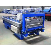 China CE Roof Steel Profile Roll Forming Machine , Metal Roofing Sheet Roll Former on sale