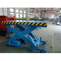 Quality High Strength Manganese Steel Fixed Scissor Lift With 160 - 500KG Rotated Load wholesale