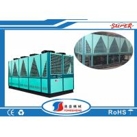 Cheap Double Compressor Industrial Air Chiller Machine 60Hp Box Type 31.5 M3 / H Water Flow for sale