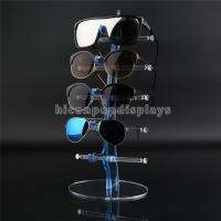 Eyeglass Shop Countertop Commercial Eyewear Display Rods For 5 Pair Of Sunglasses