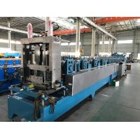 Quality 16 - 18 Stations CZ Purlin Roll Forming Machine With Hydraulic Cutting / Punching wholesale