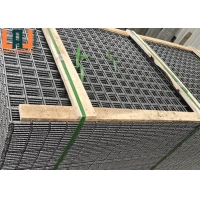 Square Hole Hot Dip Galvanized Welded Wire Mesh Panels For Rabbit Cages for sale