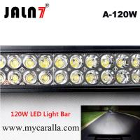 Quality LED Light Bar JALN7 22Inch 120W Spot Flood Combo LED Driving Lamp Super Bright Off Road Lights LED Work Light Boat Jeep wholesale
