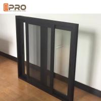 Quality Commerical House and Office Tempered Double Glass Aluminium Sliding Window wholesale