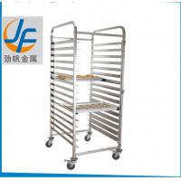 Quality Durable Bakery Rack Trolley , Stainless Steel Bakery Trolley For Rotary Oven wholesale