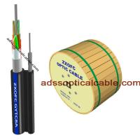 Quality Outside 24 48 Core Figure 8 Fiber Optic Cable Central Loose Tube G657 G652 wholesale