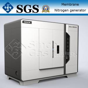 Quality SINCE GAS Nitrogen Membrane Unit / Membrane Type Nitrogen Generator Plant wholesale