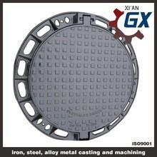 Quality BS EN124 Ductile Iron Cast Iron Manhole Covers Dimensions wholesale