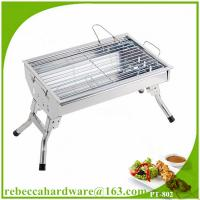 Quality Hot sale portable stainless steel charcoal barbecue grill kit wholesale
