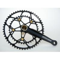 China 7075 Aluminum Alloy Highway Compression Crankset/ Highway Platter 53/39T Bike Gear on sale