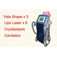 China Vertical Lipo Cryolipolysis Freeze Fat Machine / Cellulite Removal Equipment on sale