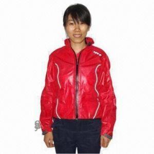 Quality Girl's Cycling Rainwear with Waterproof Zipper wholesale