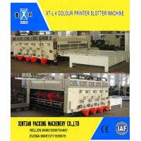 Cheap Manual Feeding Carton Making Machine / Paper Carton Printing Machine With for sale