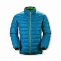 Quality Women's Down Jacket with YKK 5# Plastic Zipper and 2 Hang Pocket wholesale