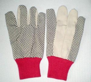 China 8 OZ 70g PVC Dots Cotton Glove on sale