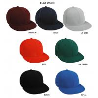 Quality supply baseball caps with flat brim wholesale