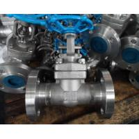 China A105 High Pressure Forged Gate Valve Threaded / Butt Weld / Socket Weld End on sale