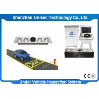 Quality LCD Screen Under Vehicle Inspection System UV300- F With License Plate Recognition wholesale