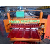 Quality Double Layer Metal Roofing Sheet Roll Forming Machine With Chain Transmission wholesale