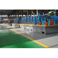 Quality Super Carbon Steel ERW Pipe Mill , High Precision Square Tube Mill Machine wholesale