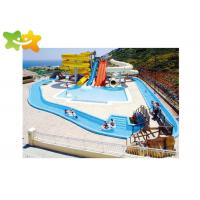 China Tube Tunnel Speed Water Slide Large Size High Safety Performance Fall Into Pool on sale