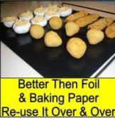 Quality PTFE coated fiberglass reusable Non-stick bbq cooking mat wholesale