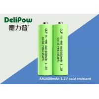 Green Color Low Temperature Rechargeable Batteries AA1600mah Capacity