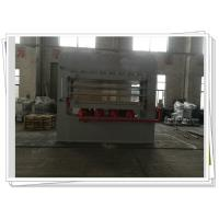 China Melamine Door Skin Multi Layer Veneer Hot Press Machine For Doors , Wood Press Machine on sale