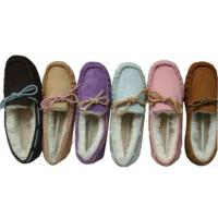China 100% Australia Double Face Merino Sheepskin Mocassin&slipper on sale
