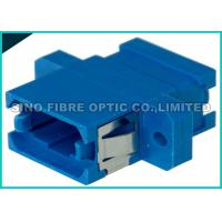 Quality Blue Single Mode Fiber Optic Adapter Simplex MPO MTP Adapter Zirconia Sleeve wholesale