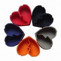 Quality Harmless Silicone Ashtrays with High Temperature Insistence, FDA and LGFB Certified wholesale