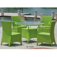 China Rattan garden furniture set on sale