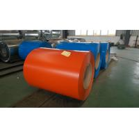 China Customized Zinc coating Color Coated Steel Coil SPCC , SGHC Grade 0.23  ~ 1.0mm Thickness on sale