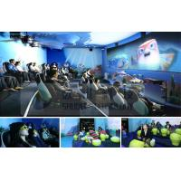 Quality Mini Outdoor Mobile 4D Cinema System With Motion Chair And Circular / Globular Screen wholesale