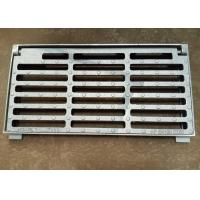 China 10*14*3.5Ductile Iron Channel Grating Square Ground Drainage Grates on sale